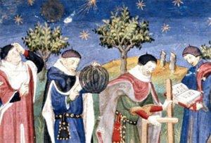 Enluminure du Moyen-Âge