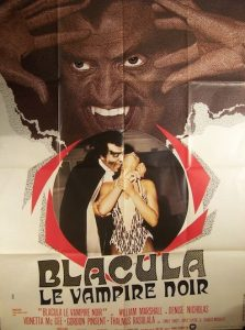 Dracula le vampire noir.